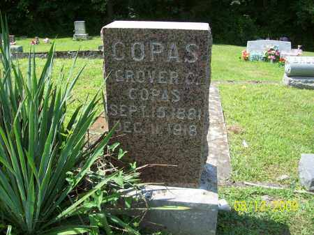 COPAS, GROVER C - Adams County, Ohio | GROVER C COPAS - Ohio Gravestone Photos