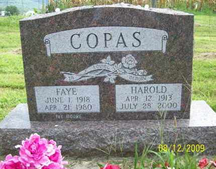 COPAS, FAYE - Adams County, Ohio | FAYE COPAS - Ohio Gravestone Photos