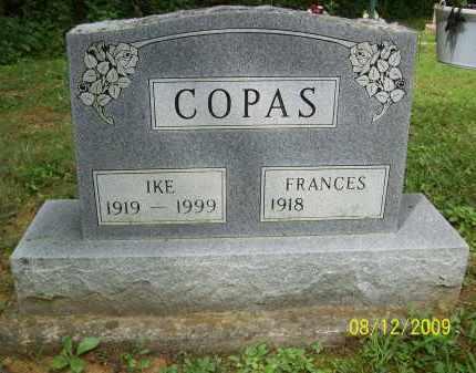 COPAS, IKE - Adams County, Ohio | IKE COPAS - Ohio Gravestone Photos