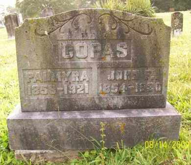 COPAS, PALMYRA - Adams County, Ohio | PALMYRA COPAS - Ohio Gravestone Photos
