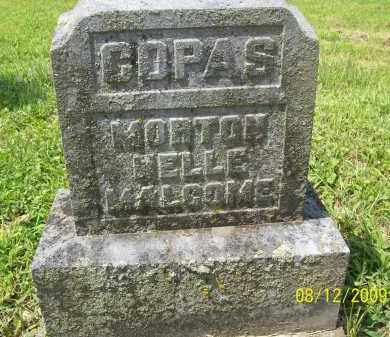 MALCOME COPAS, NELLE - Adams County, Ohio | NELLE MALCOME COPAS - Ohio Gravestone Photos