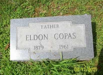 COPAS, MARION ELDON - Adams County, Ohio | MARION ELDON COPAS - Ohio Gravestone Photos