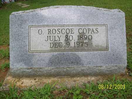 COPAS, O ROSCOE - Adams County, Ohio | O ROSCOE COPAS - Ohio Gravestone Photos