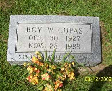 COPAS, ROY W - Adams County, Ohio | ROY W COPAS - Ohio Gravestone Photos