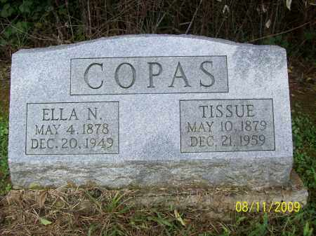 COPAS, TISSUE - Adams County, Ohio | TISSUE COPAS - Ohio Gravestone Photos