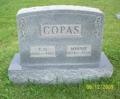 COPAS, MINNIE - Adams County, Ohio | MINNIE COPAS - Ohio Gravestone Photos