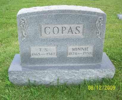 COPAS, T. S. - Adams County, Ohio | T. S. COPAS - Ohio Gravestone Photos