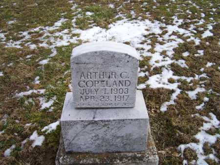 COPELAND, ARTHUR C. - Adams County, Ohio | ARTHUR C. COPELAND - Ohio Gravestone Photos
