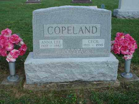 COPELAND, ANNA LEE - Adams County, Ohio | ANNA LEE COPELAND - Ohio Gravestone Photos