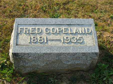 COPELAND, ALBERT FRED - Adams County, Ohio | ALBERT FRED COPELAND - Ohio Gravestone Photos