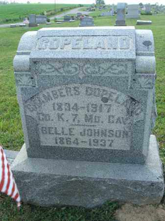 JOHNSON, BELLE - Adams County, Ohio | BELLE JOHNSON - Ohio Gravestone Photos