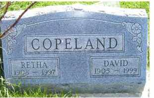 COPELAND, DAVID - Adams County, Ohio | DAVID COPELAND - Ohio Gravestone Photos