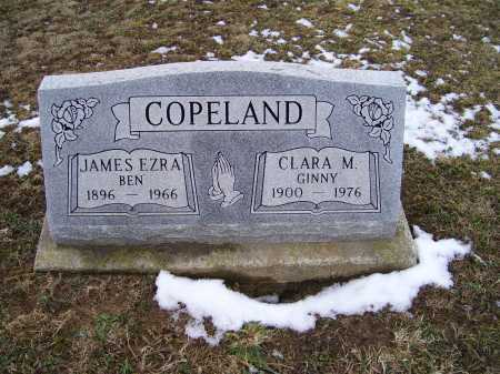 COPELAND, JAMES EZRA - Adams County, Ohio | JAMES EZRA COPELAND - Ohio Gravestone Photos