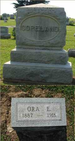 COPELAND, ORA E. - Adams County, Ohio | ORA E. COPELAND - Ohio Gravestone Photos
