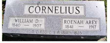 CORNELIUS, ROENAH - Adams County, Ohio | ROENAH CORNELIUS - Ohio Gravestone Photos