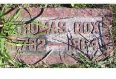 COX, THOMAS - Adams County, Ohio   THOMAS COX - Ohio Gravestone Photos