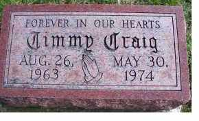 CRAIG, TIMMY - Adams County, Ohio | TIMMY CRAIG - Ohio Gravestone Photos