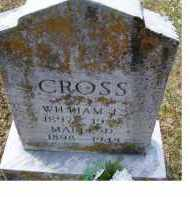 CROSS, WILLIAM F. - Adams County, Ohio | WILLIAM F. CROSS - Ohio Gravestone Photos