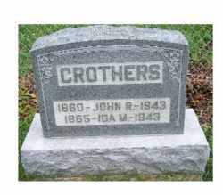 CROTHERS, IDA M. - Adams County, Ohio | IDA M. CROTHERS - Ohio Gravestone Photos