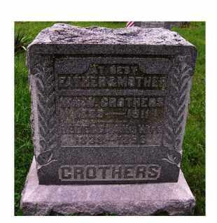 CROTHERS, WM. W. - Adams County, Ohio | WM. W. CROTHERS - Ohio Gravestone Photos