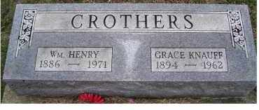 CROTHERS, GRACE - Adams County, Ohio | GRACE CROTHERS - Ohio Gravestone Photos
