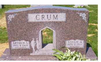 CRUM, NELLIE A. - Adams County, Ohio | NELLIE A. CRUM - Ohio Gravestone Photos