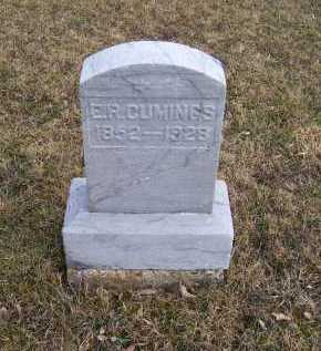 CUMINGS, E. R. - Adams County, Ohio | E. R. CUMINGS - Ohio Gravestone Photos