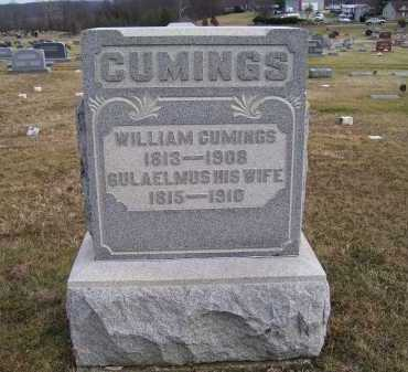CUMINGS, GULAELMUS - Adams County, Ohio | GULAELMUS CUMINGS - Ohio Gravestone Photos
