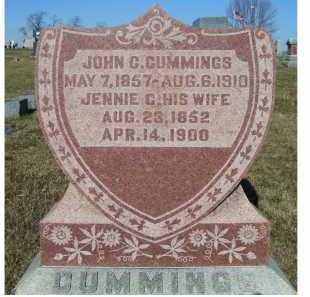 CUMMINGS, JENNIE C. - Adams County, Ohio | JENNIE C. CUMMINGS - Ohio Gravestone Photos