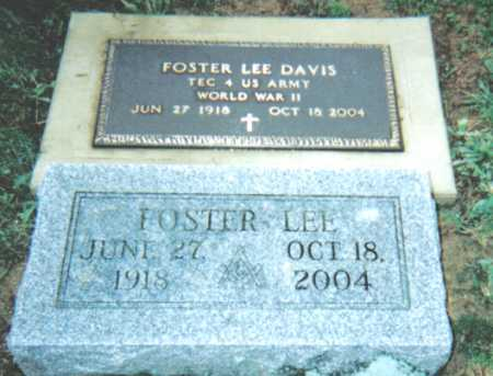 DAVIS, FOSTER LEE - Adams County, Ohio | FOSTER LEE DAVIS - Ohio Gravestone Photos