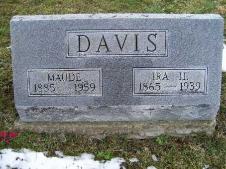 DAVIS, MAUDE - Adams County, Ohio | MAUDE DAVIS - Ohio Gravestone Photos
