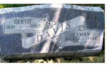 DAVIS, LYMAN - Adams County, Ohio | LYMAN DAVIS - Ohio Gravestone Photos
