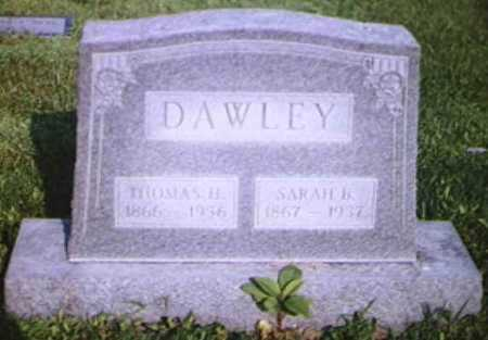 DAWLEY, SARAH BELLE - Adams County, Ohio | SARAH BELLE DAWLEY - Ohio Gravestone Photos