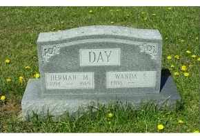 DAY, WANDS S. - Adams County, Ohio | WANDS S. DAY - Ohio Gravestone Photos