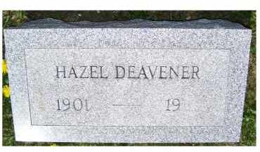 DEAVENER, HAZEL - Adams County, Ohio | HAZEL DEAVENER - Ohio Gravestone Photos