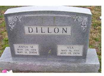DILLON, ASA - Adams County, Ohio | ASA DILLON - Ohio Gravestone Photos