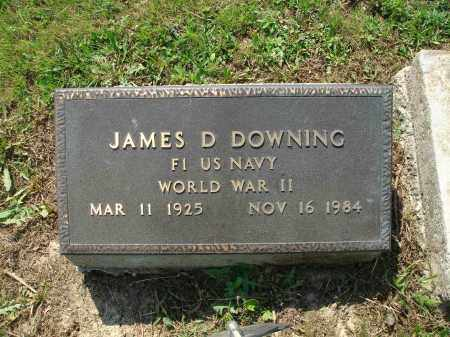 DOWNING, JAMES D - Adams County, Ohio | JAMES D DOWNING - Ohio Gravestone Photos