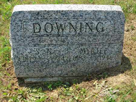 DOWNING, MYRTLE - Adams County, Ohio | MYRTLE DOWNING - Ohio Gravestone Photos