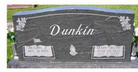 DUNKIN, AUSTIN J. - Adams County, Ohio | AUSTIN J. DUNKIN - Ohio Gravestone Photos