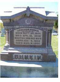 DUNKIN, ABRAHAM - Adams County, Ohio | ABRAHAM DUNKIN - Ohio Gravestone Photos