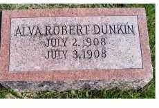 DUNKIN, ALVA ROBERT - Adams County, Ohio | ALVA ROBERT DUNKIN - Ohio Gravestone Photos