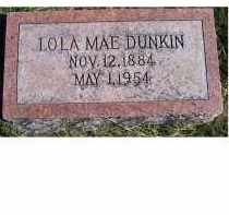 DUNKIN, LOLA MAE - Adams County, Ohio | LOLA MAE DUNKIN - Ohio Gravestone Photos