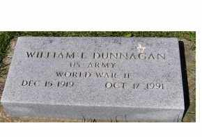 DUNNAGAN, WILLIAM L. - Adams County, Ohio | WILLIAM L. DUNNAGAN - Ohio Gravestone Photos