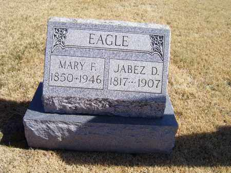 EAGLE, JABEZ D. - Adams County, Ohio | JABEZ D. EAGLE - Ohio Gravestone Photos