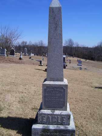 EAGLE, JOHN - Adams County, Ohio | JOHN EAGLE - Ohio Gravestone Photos