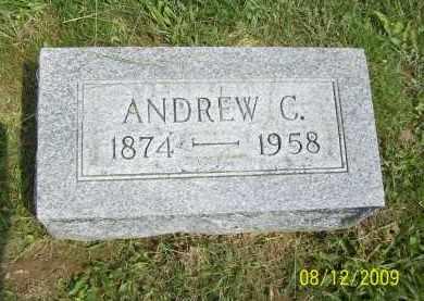 EASTER, ANDREW C - Adams County, Ohio | ANDREW C EASTER - Ohio Gravestone Photos