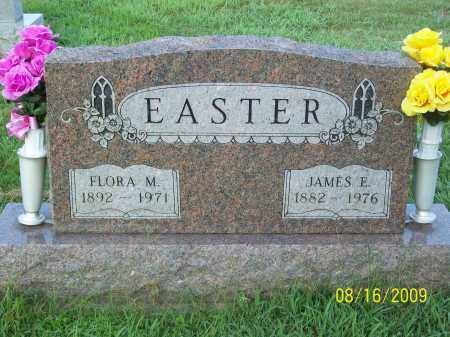 EASTER, FLORA M - Adams County, Ohio | FLORA M EASTER - Ohio Gravestone Photos