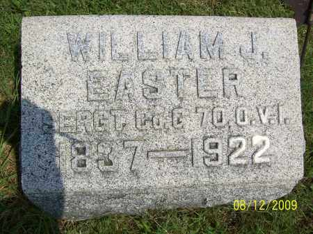 EASTER, WILLIAM J - Adams County, Ohio | WILLIAM J EASTER - Ohio Gravestone Photos