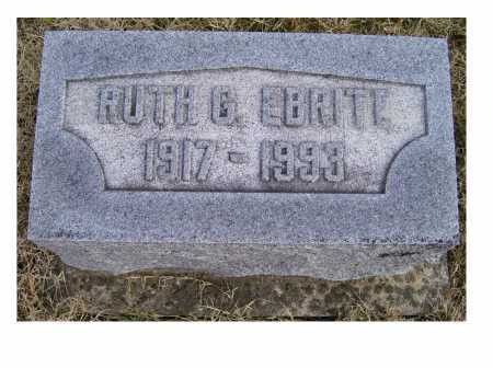EBRITE, RUTH G. - Adams County, Ohio | RUTH G. EBRITE - Ohio Gravestone Photos