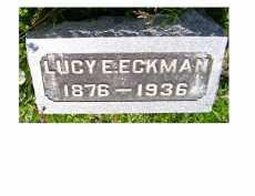 ECKMAN, LUCY E. - Adams County, Ohio | LUCY E. ECKMAN - Ohio Gravestone Photos